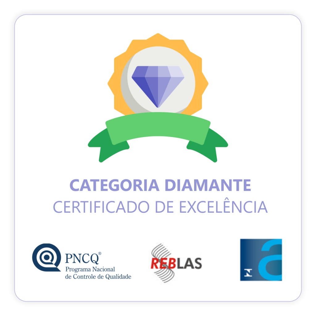 Laboratorio Santa Terezinha - Certificado-Categoria-Diamante-PNQC