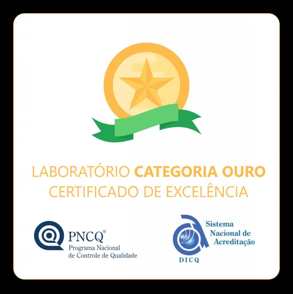 Laboratorio Santa Terezinha - Certificado-Categoria-Ouro-PNQC-DICQ2